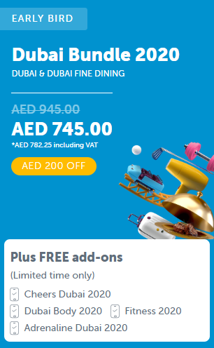 ENTERTAINER Dubai Bundle 2020