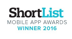shortlist Mobile App Awards 2016