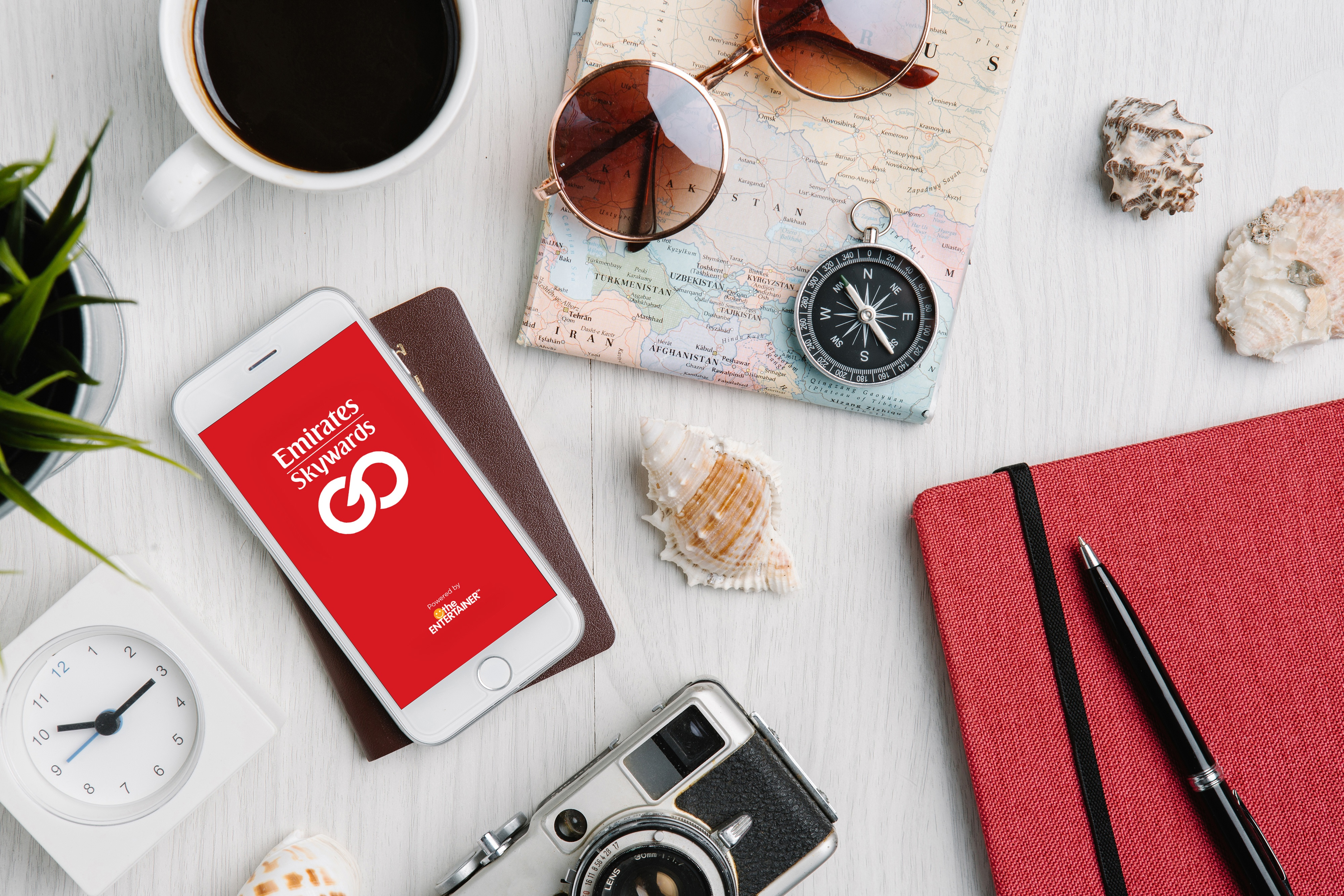 The ENTERTAINER partners with Emirates Skywards to introduce new cutting-edge mobile travel App