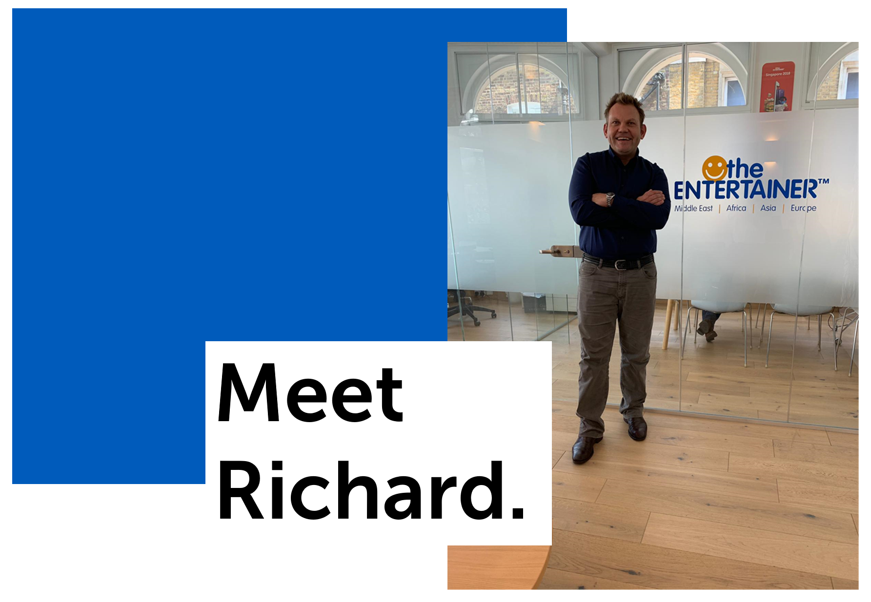 We Are ENTERTAINER: Meet Richard