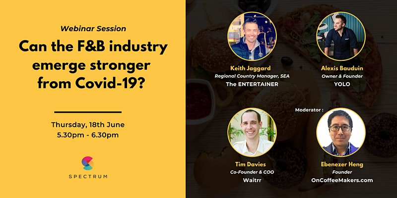 [Webinar] Can the F&B Industry Emerge Stronger from COVID-19?